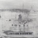 Initium novum  XIII. 2014. Acrylic on canvas, 80 x 100