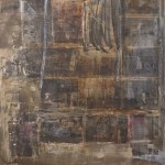 Malecòn VI. 2013. Akrüül, kollaaž, lõuend, 200x160